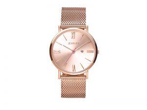 ZIW505M Zinzi roman horloge rose met rose wijzerplaat