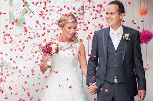 Lees wat Paul en Karine vertellen over hun ervaring over het kopen van trouwringen