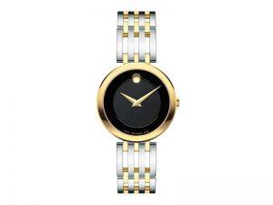 Movado dames horloge Amorosa 0606893 bicolor