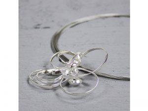 zilveren hanger bloem Jéh Jewels hanger 16907