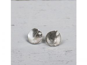 Jéh Jewels oorbellen rond zilver 10143