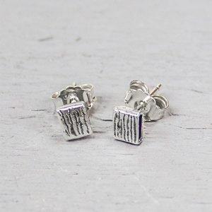 Jéh Jewels oorknopjes zilver 14040