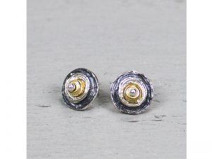 Zilveren oorbellen schoteltjes Jéh Jewels 18810
