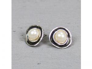 Zilveren oorbellen zoetwater parels Jéh Jewels 19022