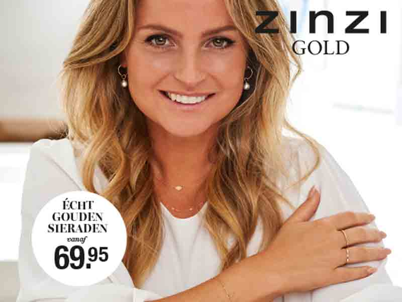 Bekijk Zinzi gouden sieraden
