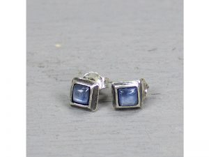 zilveren oorbellen met kyaniet Jéh Jewels 18467