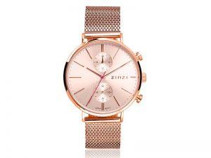 ZIW705M Zinzi traveller horloge rosekleur