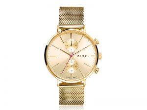 ZIW710M Zinzi traveller horloge goudkleur