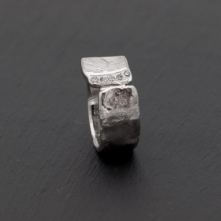 Witgouden-ring-met-vingerafdruk goudsmid regio Den Bosch