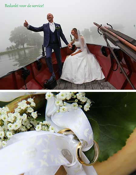 Bastiaan en Theodora kochten trouwringen bij juwelier Sylvester Andriessen