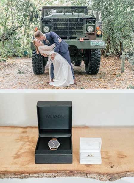 Coen en Samantha kochten trouwringen bij juwelier Sylvester Andriessen