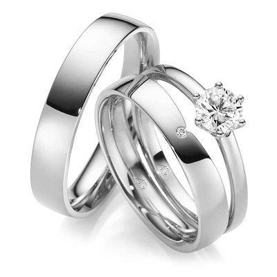 Diamant-zetting-solitair