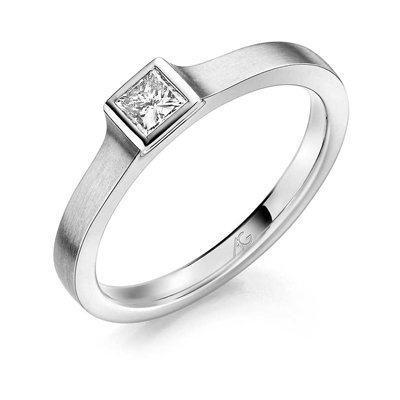 Diamant-zetting-vierkante-kast