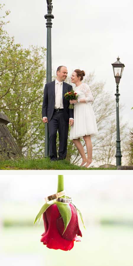 Jean-Pierre en Maartje kochten trouwringen bij juwelier Sylvester Andriessen