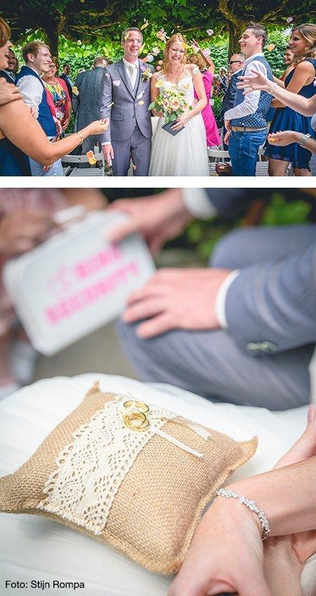 Judith en Martijn kochten trouwringen bij juwelier Sylvester Andriessen