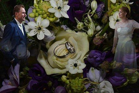 Leon en Marinka kochten trouwringen bij juwelier Sylvester Andriessen