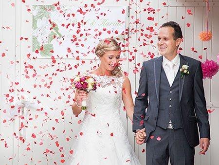 Paul en Karine kochten trouwringen bij juwelier Sylvester Andriessen
