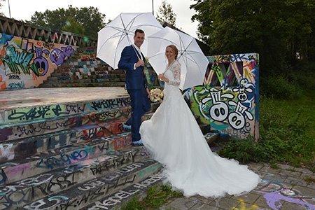 Rob en Kelly kochten trouwringen bij juwelier Sylvester Andriessen