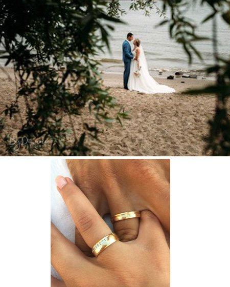 Sander en Iris kochten trouwringen bij juwelier Sylvester Andriessen
