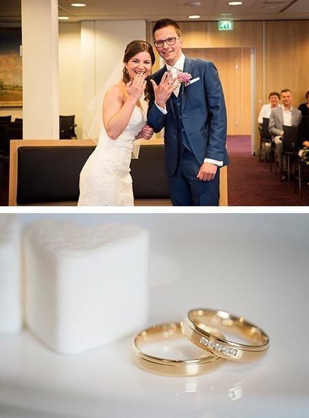Sjoerd en Angela kochten trouwringen bij juwelier Sylvester Andriessen