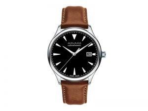 3650055-Movado-zwitsers-herenhorloge-automaat-heritage-bruine-band
