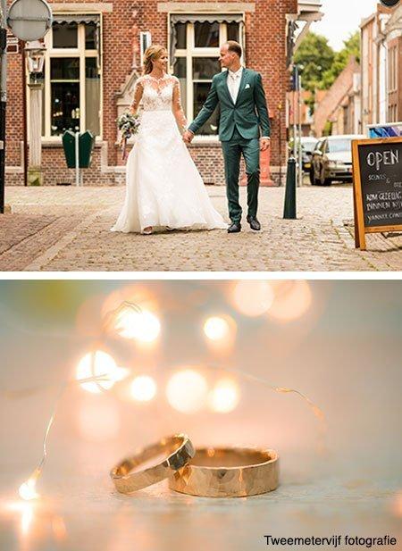 Elsemieke-en-Maurice kochten trouwringen bij juwelier Sylvester Andriessen
