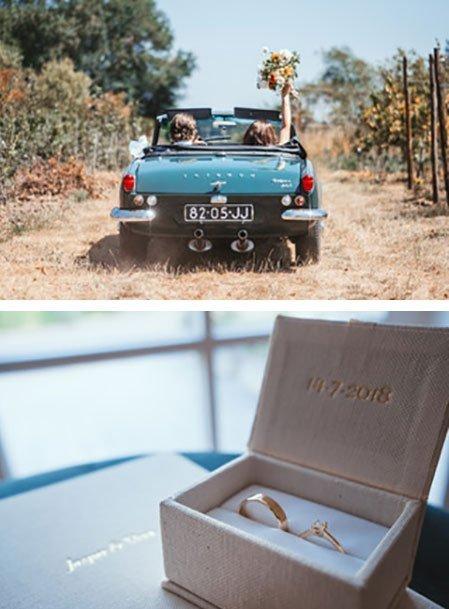 Jasper en Vera kochten trouwringen bij juwelier Sylvester Andriessen