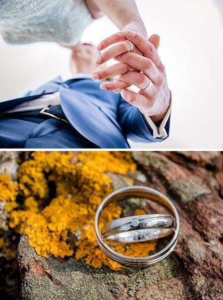 Patrick en Marit kochten trouwringen bij juwelier Sylvester Andriessen