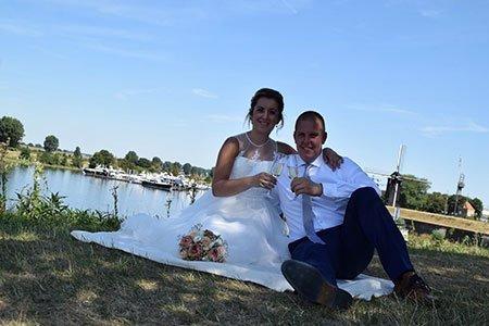 Rob-en-Stephanie kochten trouwringen bij goudsmid Sylvester Andriessen