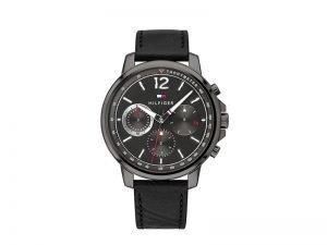 1791533-tommy-Hilfiger-horloge-Landon-zwarte-band-en-wijzerplaat