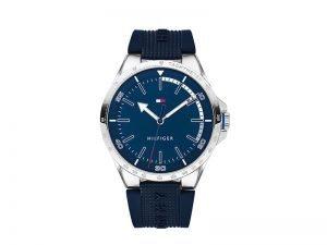 1791542-Tommy-Hilfiger-horloge-blauwe-band-en-wijzerplaat