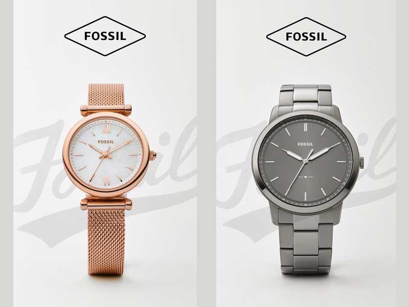 Fossil-horloges-korting-actie
