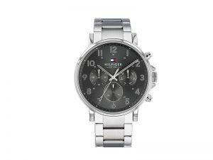 1710382-Tommy-Hilfiger-horloge-staal-met-zwarte-wijzerplaat
