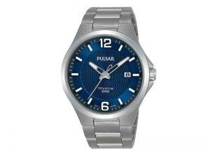PS9611X1-Pulsar-herenhorloge-titanium-blauwe-wijzerplaat-100M-WR