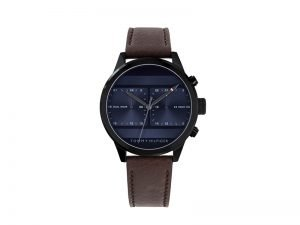 TH1791593-Tommy-Hilfiger-herenhorloge-Icon-bruin-blauw