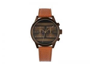 TH1791594-Tommy-Hilfiger-herenhorloge-Icon-bruin