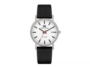 IV24Q199 Danish Design horloge model stationsklok