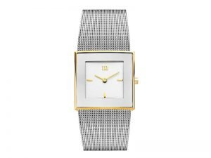 IV65Q973-Danish-Design-horloge-bicolor-vierkant