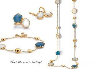 Monzario gouden sieraden met edelstenen