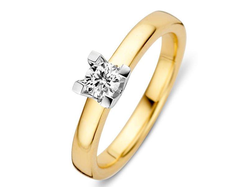Diamanten-verlovingsring