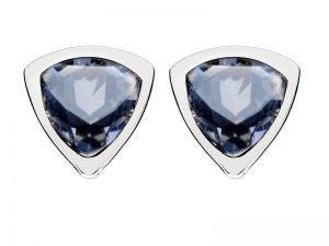Oorbellen-zilver-met-blauw-swarovski-Yvette-Ries