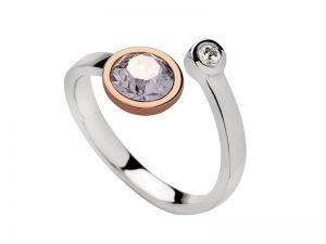 Zilveren-ring-met-rose-verguld-en-swarovski
