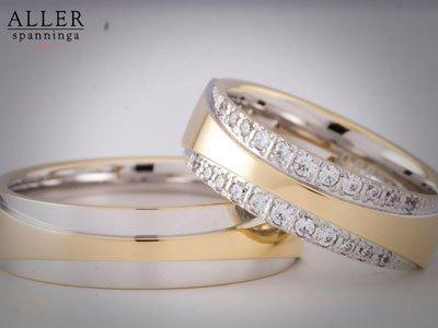luxe gouden trouwringen