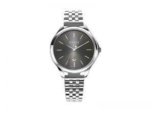 ZIW1024 Zinzi Classy horloge staal grijze wijzerplaat