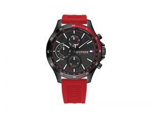 TH1791722-Tommy-Hilfiger-horloge-rode-band