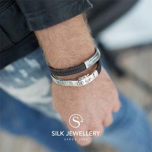 362-silk-armband-zilver-met-leer