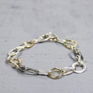 Armband-zilver-met-goldfilled-grove-schakel-19352