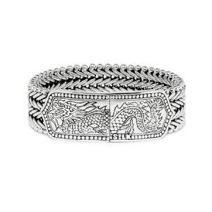 Zilveren-armband-met-draak-532