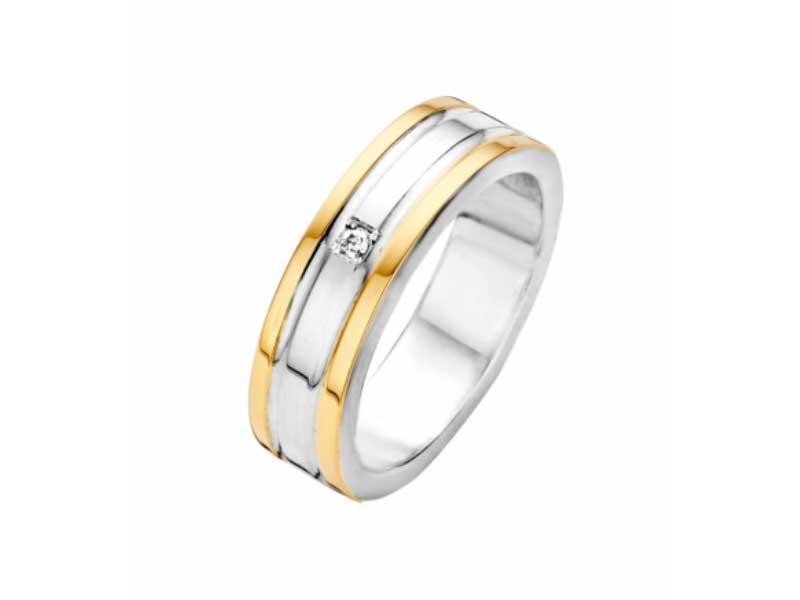 Fjory-ring-zilver-met-goud-en-briljant