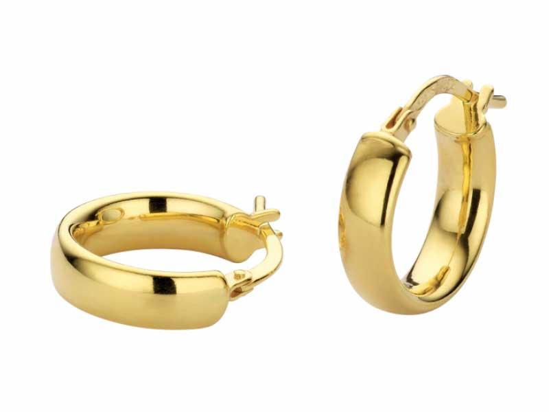 Oorringen-bol-model-goud-massief-zilveren-kern-fjory